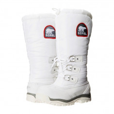 Boots femei SOREL Snowlion™ XT | 100% originali | Livrare cca 10 zile lucratoare | Aducem pe comanda orice produs din SUA - Cizma dama Sorel, Textil, Alb