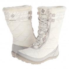 Boots femei Columbia Minx™ Mid II Omni-Heat™ | 100% originali | Livrare cca 10 zile lucratoare | Aducem pe comanda orice produs din SUA - Cizma dama Columbia, Textil, Alb