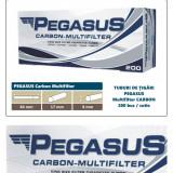 2.000 tuburi de tigari PEGASUS Multifiltru cu carbon activ pentru injectat tutun