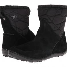 Boots femei Columbia Minx™ Pull On Omni-Heat™ | 100% originali | Livrare cca 10 zile lucratoare | Aducem pe comanda orice produs din SUA - Gheata dama Columbia, Negru
