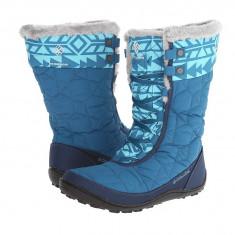 Boots femei Columbia Minx™ Mid II Omni-Heat™ | 100% originali | Livrare cca 10 zile lucratoare | Aducem pe comanda orice produs din SUA - Cizma dama Columbia, Textil, Albastru
