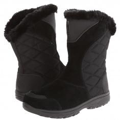 Boots femei Columbia Ice Maiden™ II Slip | 100% originali | Livrare cca 10 zile lucratoare | Aducem pe comanda orice produs din SUA - Gheata dama Columbia, Negru