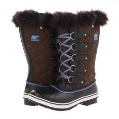 Boots femei SOREL Tofino Herringbone™/Nylon | 100% originali | Livrare cca 10 zile lucratoare | Aducem pe comanda orice produs din SUA - Cizma dama Sorel, Cauciuc, Maro