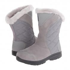 Boots femei Columbia Ice Maiden™ II Slip | 100% originali | Livrare cca 10 zile lucratoare | Aducem pe comanda orice produs din SUA - Cizma dama Columbia, Gri