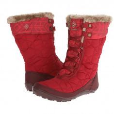 Boots femei Columbia Minx™ Mid II Omni-Heat™ | 100% originali | Livrare cca 10 zile lucratoare | Aducem pe comanda orice produs din SUA - Cizma dama Columbia, Textil, Rosu
