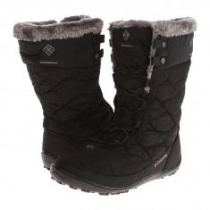 Boots femei Columbia Minx™ Mid II Omni-Heat™ | 100% originali | Livrare cca 10 zile lucratoare | Aducem pe comanda orice produs din SUA - Cizma dama Columbia, Textil, Negru