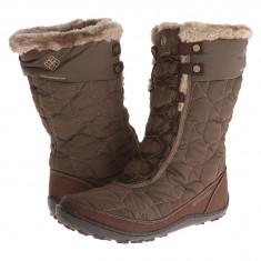 Boots femei Columbia Minx™ Mid II Omni-Heat™ | 100% originali | Livrare cca 10 zile lucratoare | Aducem pe comanda orice produs din SUA - Cizma dama Columbia, Textil, Maro