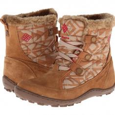 Boots femei Columbia Minx™ Shorty Omni-Heat™ | 100% originali | Livrare cca 10 zile lucratoare | Aducem pe comanda orice produs din SUA - Cizma dama Columbia, Maro