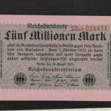 [ Y ] - Germania 5 milion mark 20 August 1923 UNC !!!