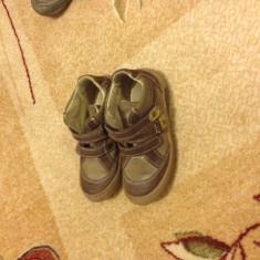 Ghete copii marimea 28 piele maro - Pantofi copii, Baieti, Piele naturala