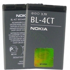Baterie Nokia 2720 6600 7210 7230 5310 X3 6700S 6300i BL-4CT Originala Swap A, Alt model telefon Nokia, Li-ion