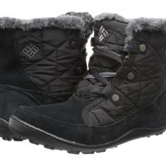 Boots femei Columbia Minx™ Shorty Omni-Heat™ | 100% originali | Livrare cca 10 zile lucratoare | Aducem pe comanda orice produs din SUA - Cizma dama Columbia, Negru