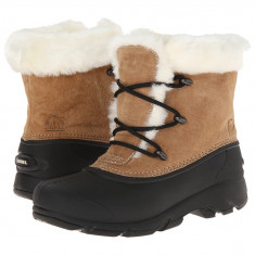Boots femei SOREL Snow Angel™ Lace | 100% originali | Livrare cca 10 zile lucratoare | Aducem pe comanda orice produs din SUA - Gheata dama Sorel, Bej