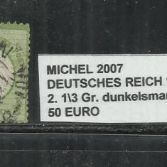 DEUTSCHES REICH DIENSTMARKEN WURTTEMBERG 1872 - 2, 1\3Gr.