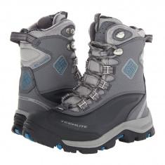 Boots femei Columbia Bugaboot™ Plus II Omni-Heat™ | 100% originali | Livrare cca 10 zile lucratoare | Aducem pe comanda orice produs din SUA - Gheata dama Columbia, Gri