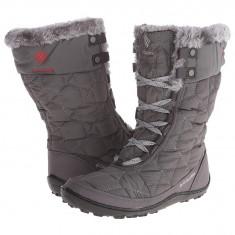 Boots femei Columbia Minx™ Mid II Omni-Heat™ | 100% originali | Livrare cca 10 zile lucratoare | Aducem pe comanda orice produs din SUA - Cizma dama Columbia, Textil, Gri