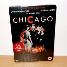 Film DVD - Chicago - Collector's Edition ( STEELBOOK ) - pentru colectionari !!!