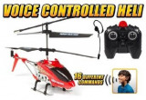 ELICOPTER RADIOCOMANDAT CU ACTIVARE DUPA VOCE,CONTROL PRIN COMENZI VOCALE!, Alte materiale, Unisex