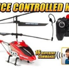 ELICOPTER RADIOCOMANDAT CU ACTIVARE DUPA VOCE, CONTROL PRIN COMENZI VOCALE! - Elicopter de jucarie, Alte materiale, Unisex