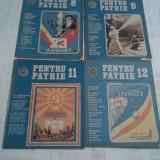 REVISTA PENTRU PATRIE ANUL 1987 4 BUCATI - Revista culturale