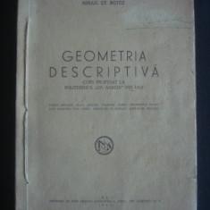 MIHAIL ST. BOTEZ - GEOMETRIA DESCRIPTIVA {1946}