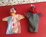 2 buc,Papusi de mana din perioada comunista !!!