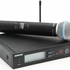 Microfon Shure Incorporated PROFESIONAL WIRELESS SHURE SLX4/ SM58, KIT COMPLET IN CUTIE, MADE IN USA.