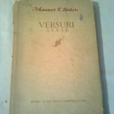 JOHANNES R. BECHER  ~ VERSURI ALESE