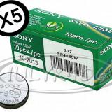 OFERTA Baterii SONY 337 X 5 BUC pentru Casca de Copiat baterie Casti microcasti, Alt model telefon Sony, Li-ion