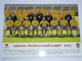 Foto nationala de fotbal din SUEDIA 2003 (inclusiv Zlatan Ibrahimovici)