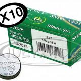 10X SONY 337 BATERII CASCA DE COPIAT JAPONEZA BATERIE CASTI DE EXAMEN SISTEM BAC, Alt model telefon Sony, Li-ion