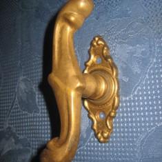 Maner de usa, rotativ, vechi din bronz, perioada interbelica.