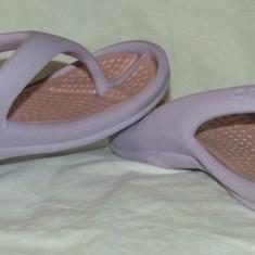 Papuci copii CROCS - Slapi copii Crocs, Marime: 30.5, Fete, Lila