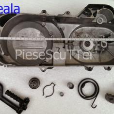 Capac Transmisie + Rac + Semiluna + Arc + Peda Scuter Baotian / Bautian ( 40cm ) - Capac Transmisie Moto