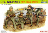 + Macheta 1/35 Dragon 6408 - US Marines Iwo Jima '45 Premium Edition +