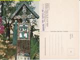 Sapanta ( Maramures )- Obiceiuri-  Cimitirul Vesel - Stan Ion Patras - autograf, Necirculata, Printata