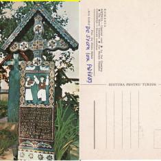 Sapanta ( Maramures )- Obiceiuri-  Cimitirul Vesel - Stan Ion Patras - autograf