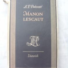 Manon Lescaut - Carte in germana