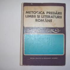 Metodica Predarii Limbii Si Literaturii Romane - Coordonator: I.d.laudat, RF6/2 - Carte Psihologie