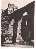 #carte postala(ilustrata)-SIBIU-Ruinele cetati Slimnic, Circulata