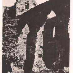 #carte postala(ilustrata)-SIBIU-Ruinele cetati Slimnic - Carte Postala Transilvania dupa 1918, Circulata