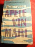 Tudor Teodorescu Braniste - Apele vin mari -Prima Ed. 1960, Alta editura