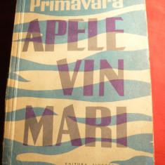 Tudor Teodorescu Braniste - Apele vin mari -Prima Ed. 1960