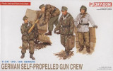 + Macheta 1/35 Dragon 6016 - German self-propelled gun crew FARA CUTIE +