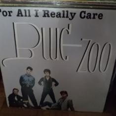 Blue Zoo For All I Really Care album disc vinyl lp muzica new wave pop rock 1984 - Muzica Pop, VINIL