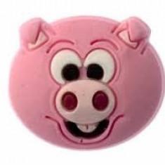 Jibbitz CROCS - bijuterii/accesorii pentru saboti de guma -  Pink pig