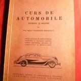 C.Mihailescu - Curs de Automobile, cca 1942, Ed. Monitorul Oficial