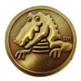 jibbitz CROCS - bijuterii/accesorii pentru saboti de guma -  Gold Duke