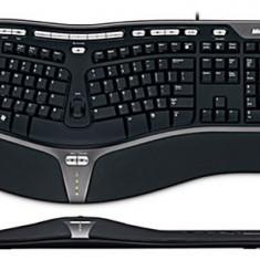 Microsoft natural ergonomic keyboard 4000 v1.0 - Tastatura Microsoft, Ergonomica, Cu fir, USB