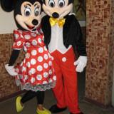 Cuplu mascote Mickey + Minnie - Jucarii plus